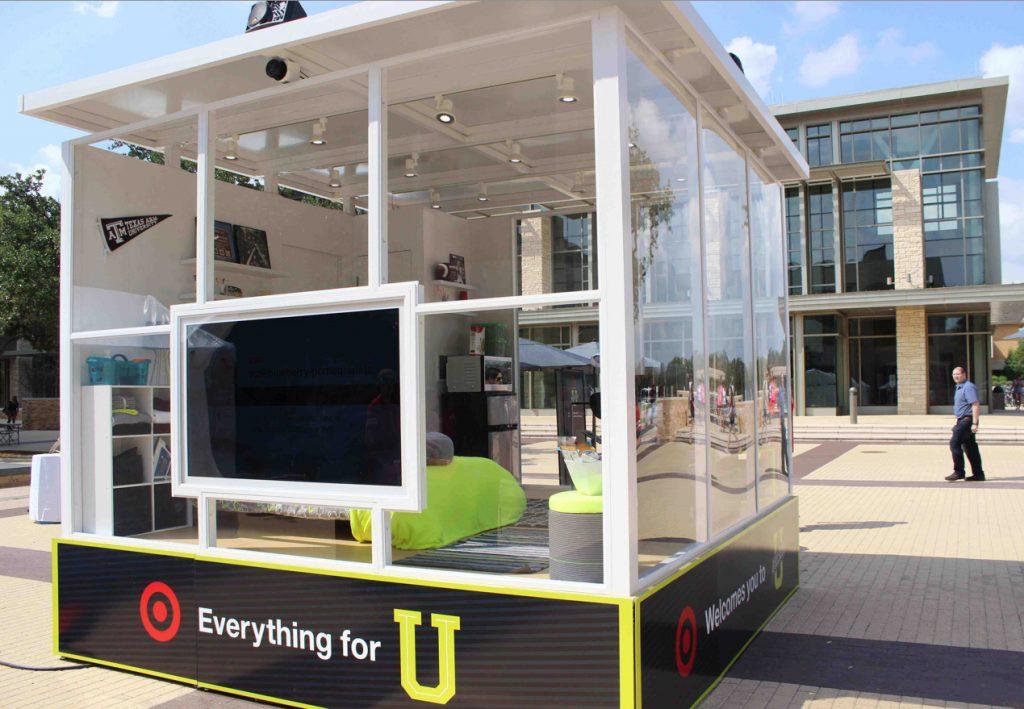 Target College Campus Pop-Up Store