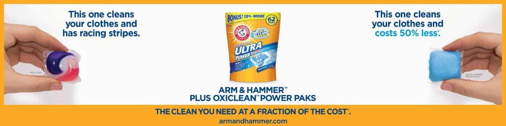 Arm & Hammer Ad